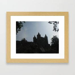 medieval castle Framed Art Print