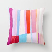 library Throw Pillows featuring Library II by Emily Rickard