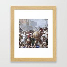 Les Sabines Framed Art Print