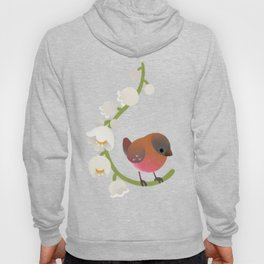 Brown-capped rosy finch Hoody
