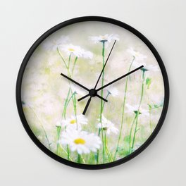 Margeritenwiese Wall Clock
