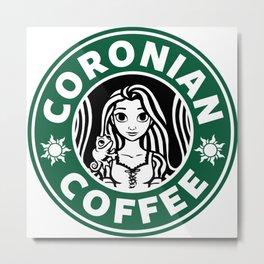 Coronian Coffee Metal Print