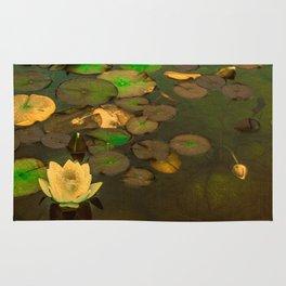 Summer Waterlily Pond Rug