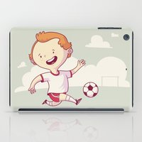 soccer iPad Cases featuring Street Soccer by Mario Moreno