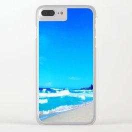 Carribean Coast Clear iPhone Case