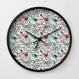 Otomi Roadrunners Wall Clock