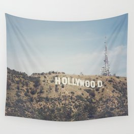 Hike to the Sign Wall Tapestry