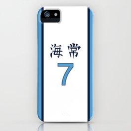 Kise's Jersey Alt iPhone Case