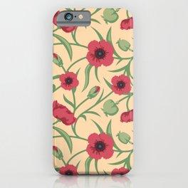 Vintage floral pattern No2  iPhone Case