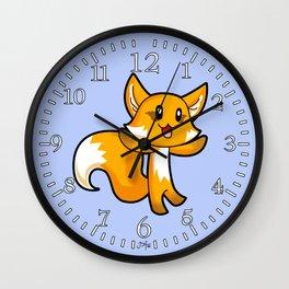Fox; Animal Fable Wall Clock