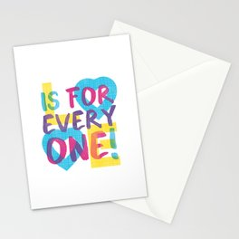 Love's Spectrum Stationery Cards