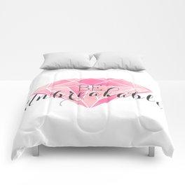 Be Unbreakable (Pink Diamond) Comforters