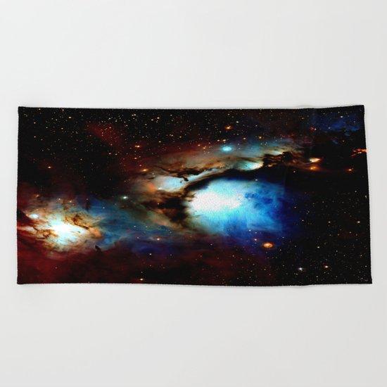 Galaxy Nebula : Messier 78 Beach Towel