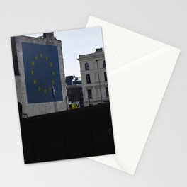 Banksy brexit(?) Stationery Cards