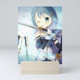 Miki Sayaka Madoka Magica Mini Art Print