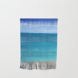 Abstract Sea Wall Hanging