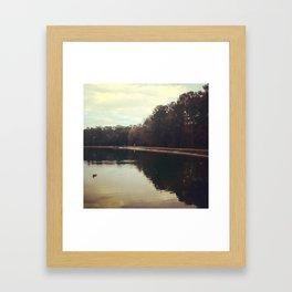 Tribble Park Pond Framed Art Print