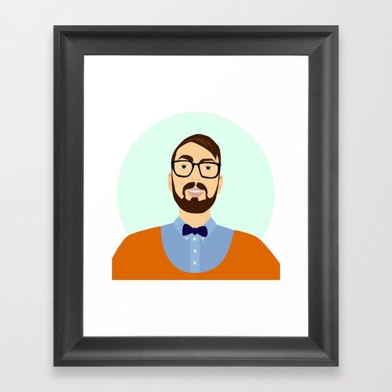 me Framed Art Print