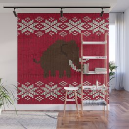 Woolly Woolly Mammoth Wall Mural
