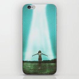Alien Abduction iPhone Skin