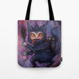 Holiday Krampus Tote Bag