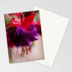 Rainy Day Fuschia  Stationery Cards