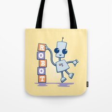 Ned's Blocks Tote Bag