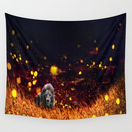 Savannah Requiem Wall Tapestry