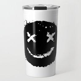 Confused Smile Travel Mug