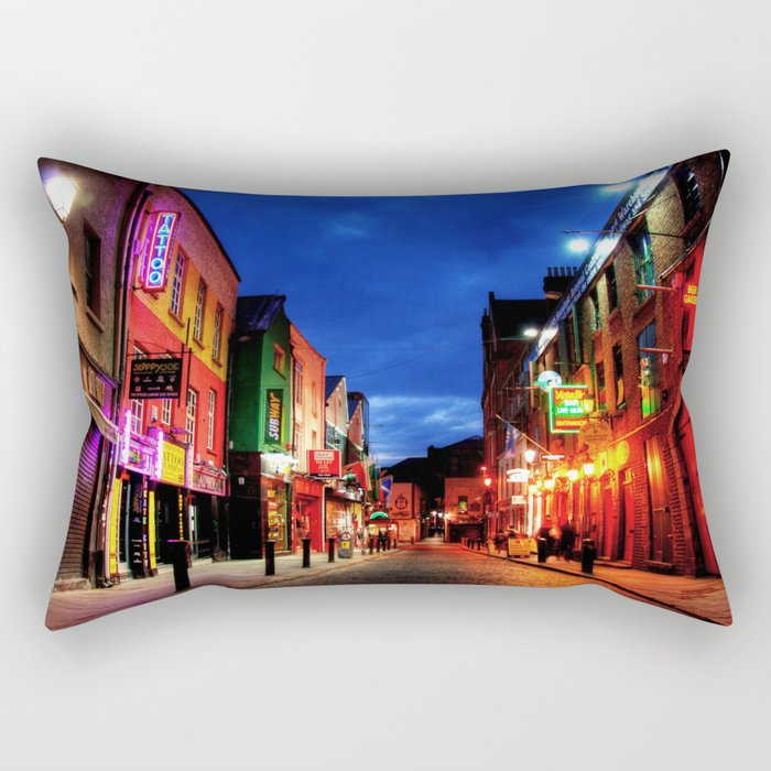 temple bar Rectangular Pillow