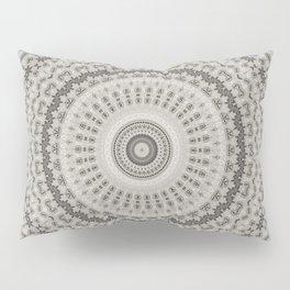 Taupe Mandala Pillow Sham