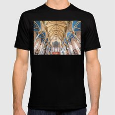 Cathedral Black Mens Fitted Tee MEDIUM
