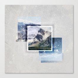 Inspiring mountain Canvas Print