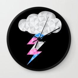 Transgender Storm Cloud Wall Clock