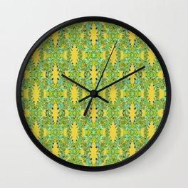 Ornate Modern Noveau Wall Clock