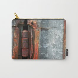 Hinge and Rust Wave Carry-All Pouch