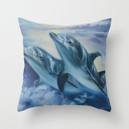 Drifters Throw Pillow