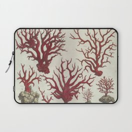 Naturalist Red Coral Laptop Sleeve