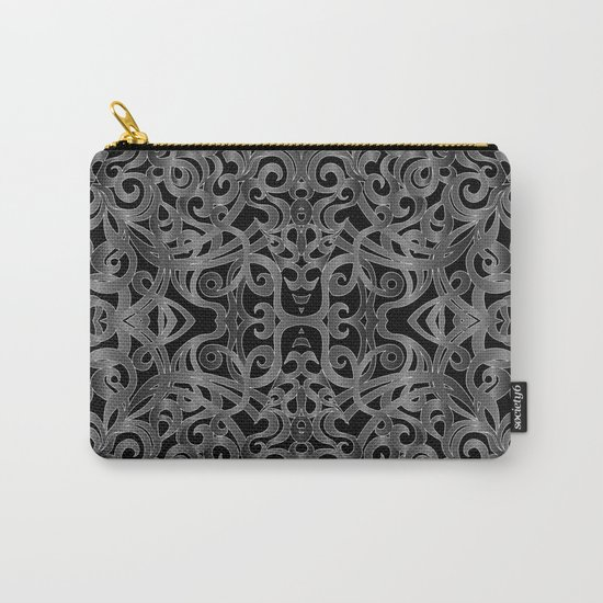 Floral Wrought Iron G19 Carry-All Pouch