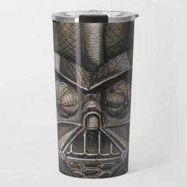 Darth Calavera Vader (DRAWLLOWEEN 30/31) Travel Mug