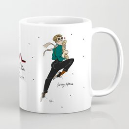 Benjamin & Jerry Horne Pin-up Coffee Mug