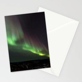 Northern Green Light Stationery Cards
