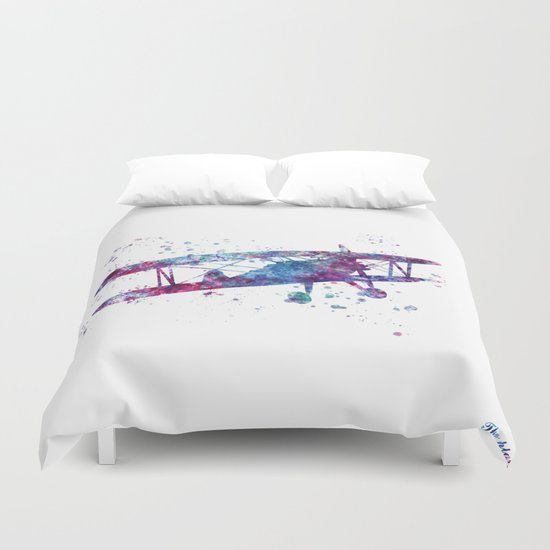 Little Plane Duvet Cover