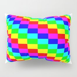 Blender Checkersphere 6 Color Pillow Sham