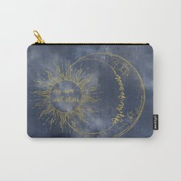 Gold Moon of My Life. My Sun and Stars Carry-All Pouch