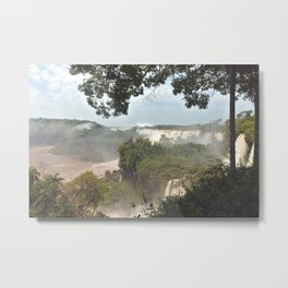 Iguazú Falls Metal Print