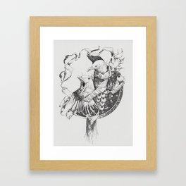 Thieving Birds Framed Art Print