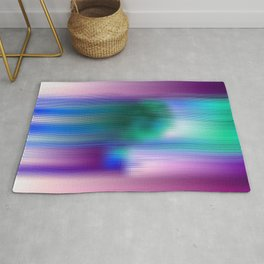 Glitchy Tiles - Abstract Pixel art Rug