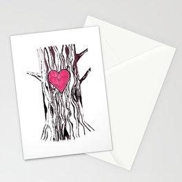 Tree Heart Stationery Cards
