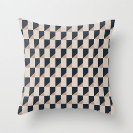 Pattern perspective Throw Pillow